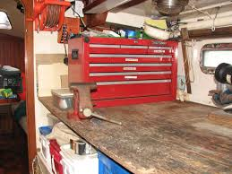Tool Bench For Garage Garage Garage Workbench With Drawers Garage Tool Box Work Bench