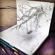 sketch of top ten modern 33 of the best 3d pencil drawings bored panda