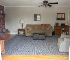 How To Choose The Right Area Rug Pinspired Home How We Found A Large Custom Area Rug For Less Than
