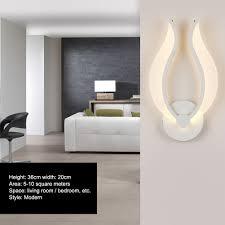 Bedroom Wall Light Height Aliexpress Com Buy Creative Mini White Warm White Light Led Wall