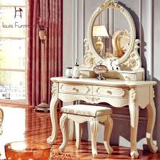 Table Vanity Mirror With Lights Vanities Makeup Vanity Mirror Set Luxury French Style Pricess