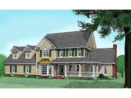 country style house with wrap around porch shadowcreek country farmhouse plan 067d 0013 house plans and more