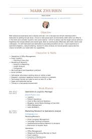 Facility Manager Resume Samples Visualcv Resume Samples Database by Operations Manager Resume Examples Examples Of Resumes