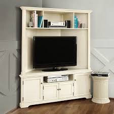 reston corner media console with hutch consoles corner and
