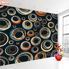 online shop shinehome cute circle bubble 3d photo wallpaper for