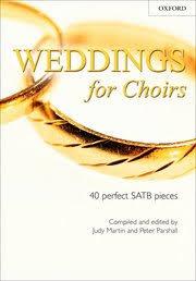 weddings for choirs judy martin parshall oxford