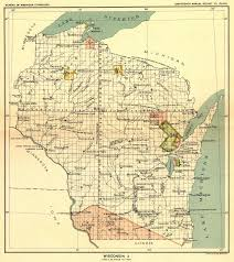 Maps Wisconsin by Indian Land Cessions In The U S Wisconsin 2 Map 65 United