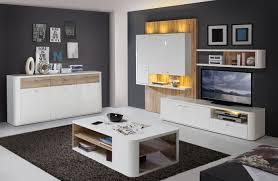 Lampe Wohnzimmer Esstisch Wohnzimmer Marlow Wohnwand Inkl Led Beleuchtung