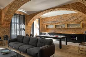 modern apartment of a football player celebrates the beauty of