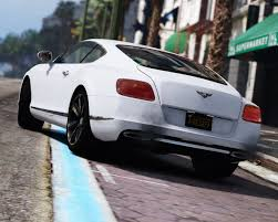 bentley chrome 2013 bentley continental gt add on tuning hq gta5 mods com
