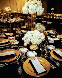 black and gold centerpieces black and gold decorations ideas lovely black gold decorations