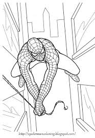 spiderman coloring sheets