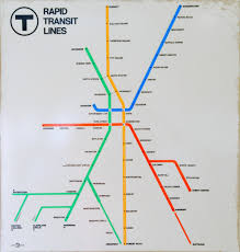 Mbta Map Boston by File 1971 Mbta Rapid Transit Map Jpg Wikimedia Commons