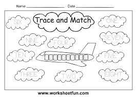 free kindergarten english worksheets printable and online for