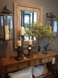 Home Decor Pottery Barn Entry Table The Hanging Lanterns Country Decor Pottery Barn