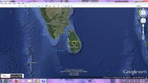 World Map Google by Sri Lanka Google Earth Youtube