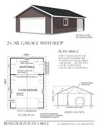 Shop Plans With Loft by Estimating The Cost Of Building A Two Car Garage Un Doors And