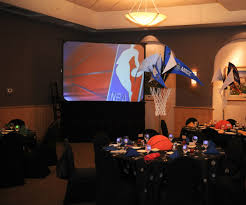Basketball Centerpieces March Madness Is Here Modern Jewish Wedding