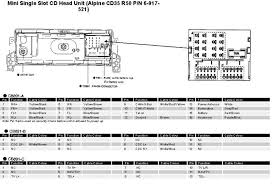 alpine car radio stereo audio wiring diagram autoradio connector