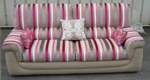 tissus ameublement canapé trasimeno tissu ameublement velours rayures fauteuil designers