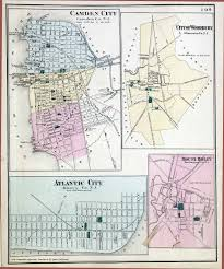 Florence Colorado Map by New Jersey Historical Maps