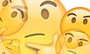 Copy And Paste Meme Faces - thinking face emoji copy paste binge thinking