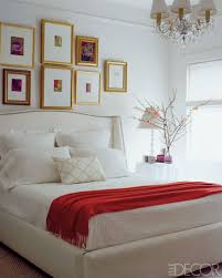White Bedroom Furniture Design Ideas Red Interior Design Red - Elle decor bedroom ideas