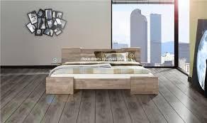 chambre chene blanchi lit en chêne goya chambre à coucher haut de gamme design et tendance