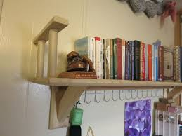 Mounted Bookshelf Simple Wall Mounted Bookshelf 8 Steps With Pictures