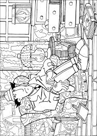 inspector gadget coloring pages coloring book