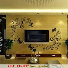 henna wall stickers flowers vine lace indian totem wall decals