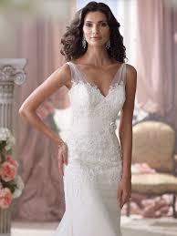 wedding dress sheer straps wedding dress with sheer straps