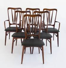 set of six rosewood dining chairs by niels hornslet for koefoeds set of six rosewood dining chairs by niels hornslet for koefoeds hornslet