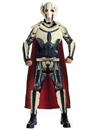 Jar Jar Binks Halloween Costume Deluxe General Grievous Costume Mens Star Wars Costumes