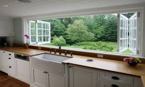 crafty kitchen designs with window over sink options for a kitchen