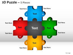 4 piece jigsaw template powerpoint 23 best images about puzzle