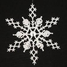 6 5 inch white glitter snowflake wedding decorations