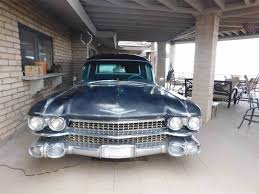 hearse for sale 1959 cadillac hearse for sale classiccars cc 1070862