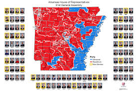 us house of representatives district map for arkansas house of representatives district map 91st general assembly 2016