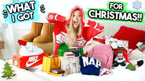 The Christmas Gift Filming Location What I Got For Christmas 2017 Opening Christmas Presents Youtube