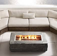Restoration Hardware Fire Pit by Propane Patio Fires Restoration Hardware Deco Pinterest