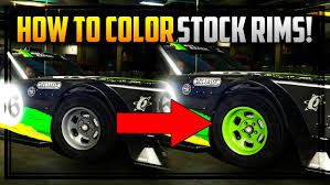 gta 5 online how to color stock rims works on drift tampa