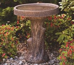 tree stump cast bird bath gardensite co uk