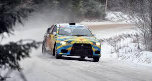 subaru snow wallpaper mitsubishi lancer rally winter snow race front hd desktop