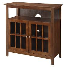 Tv Tables Wood Modern Convenience Concepts Big Sur Highboy Tv Stand Hayneedle