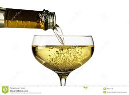 champagne clipart champagne glass with champagne bottle stock photo image 28027346