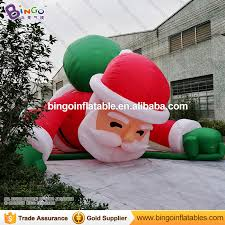 Inflatable Outdoor Christmas Decorations On Sale by Outdoor Climbing Santa Promotion Shop For Promotional Outdoor