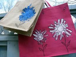 jacs of all trades kid bits craft handprint flower bags