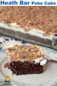 heath bar cake using chocolate cake mix