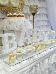 white and gold baby shower heavely baby shower party ideas baby shower shower